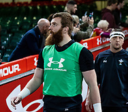 Jake Ball of Wales<br /> <br /> Photographer Simon King/Replay Images<br /> <br /> Six Nations Round 5 - Wales v Ireland Captains Run - Saturday 15th March 2019 - Principality Stadium - Cardiff<br /> <br /> World Copyright © Replay Images . All rights reserved. info@replayimages.co.uk - http://replayimages.co.uk