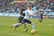 Coventry City Midfielder James Maddison during the Sky Bet League 1 match between Coventry City and Bury at the Ricoh Arena, Coventry, England on 13 February 2016. Photo by Dennis Goodwin.