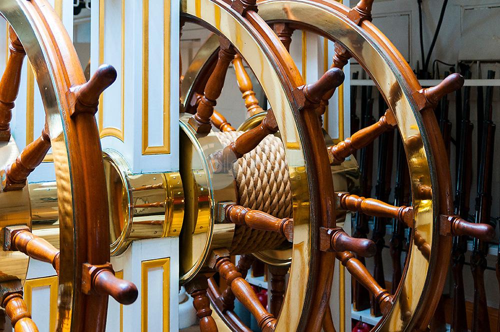 Timon de barco © / PILAR REVILLA