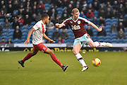 Burnley Defender, Ben Mee during the Sky Bet Championship match between Burnley and Charlton Athletic at Turf Moor, Burnley, England on 19 December 2015. Photo by Mark Pollitt.