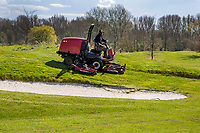 HALFWEG  - AGC , Amsterdamse Golf Club, Maaien rough,    COPYRIGHT KOEN SUYK