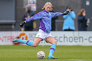 Manchester City Women defender Gemma Bonner (4) during the FA Women's Super League match between Tottenham Hotspur Women and Manchester City Women at the Hive, Barnet, United Kingdom on 5 January 2020.