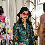 Pear Chimma is a editor in chef of Sodium Magazine attend the Graduate Fashion Week 2019 - Final Day, on 5 June 2019, Old Truman Brewery, London, UK.