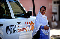 UNFPA STAFF, 27 July 2005..Dr Farida Khoshdil, responsible for the UNFPA Educational Project in Badakhshan.....According to United Nations Population Fund, Afghanistan has among the world?s highest rates of maternal mortality, and Badakhshan has the highest rates ever recorded anywhere in the world, with one mother dying in every 15 births.