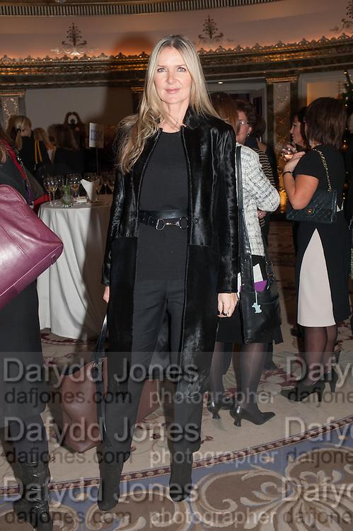 AMANDA WAKELEY;  <br />  Natwest Everywoman awards reception. The Dorchester Hotel. London. 5 December 2012.