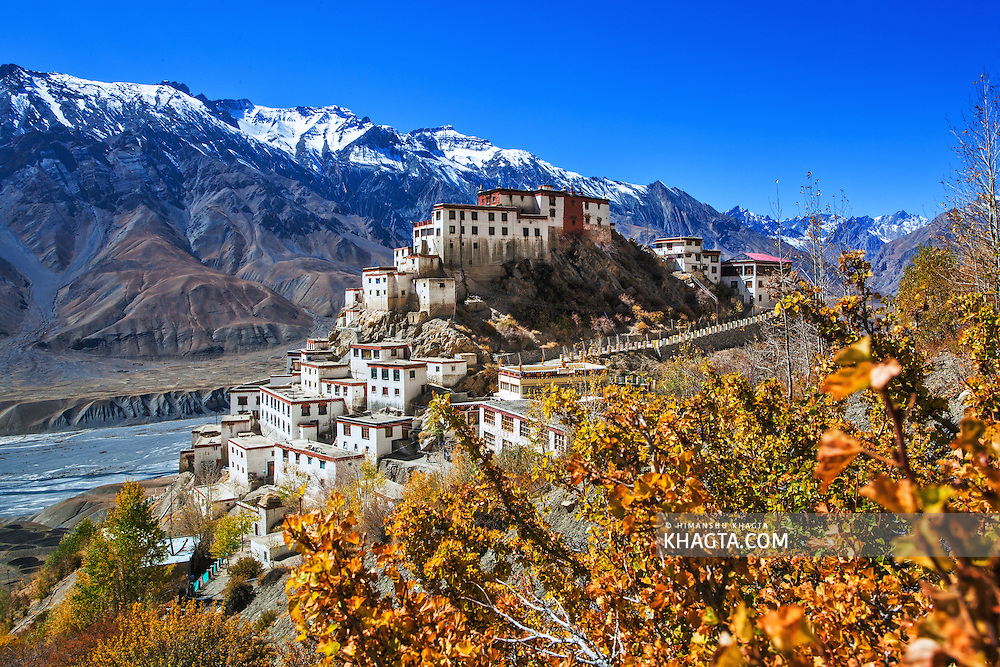 Key Monestary of Spiti, Himachal Pradesh, India