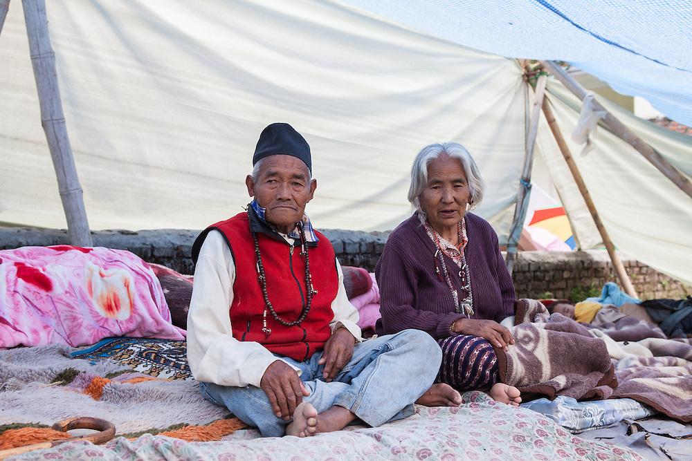Jemu Lama (72,f) and Guru Lama (82,m)