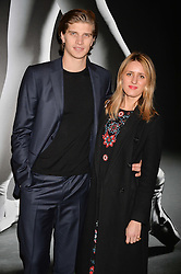 Toby Huntington-Whiteley and Cicely Brown at the Giselle Premier VIP Party, St.Martin's Lane Hotel, London England. 11 January 2017.