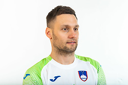 Luka Zvizej, former handball player of Slovenia posing for commercial of Rokometna simfonija 2019, on April 14, 2019, in Zrece, Slovenia. Photo by Vid Ponikvar / Sportida
