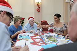 December 18, 2018 - London, London, United Kingdom - Image licensed to i-Images Picture Agency. 18/12/2018. London, United Kingdom.  Meghan Markle, The Duchess of Sussex, during a visit to Brinsworth House, the Royal Variety Charity's residential nursing and care home in Twickenham, United Kingdom. (Credit Image: © Pool/i-Images via ZUMA Press)