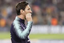 October 20, 2018 - Barcelona, Catalonia, Spain - FC Barcelona forward Lionel Messi (10) during the match FC Barcelona against Sevilla FC, for the round 9 of the Liga Santander, played at Camp Nou  on 20th October 2018 in Barcelona, Spain. (Credit Image: © Mikel Trigueros/NurPhoto via ZUMA Press)