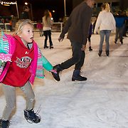 Children and adults always enjoy the ice skating Christmasville in Old Town.