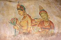 Sri Lanka<br /> Grottes de Sigiriya