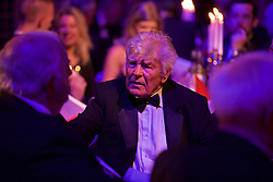 CARDIFF, WALES - Monday, October 5, 2015: FAW Council Member Brian Fear during the FAW Awards Dinner at Cardiff City Hall. (Pic by David Rawcliffe/Propaganda)