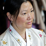 NLD/Laren/20100508 - Koningin Tshering Pem Wangchuck van Bhutan bezoekt Laren, fotografe Justine Han