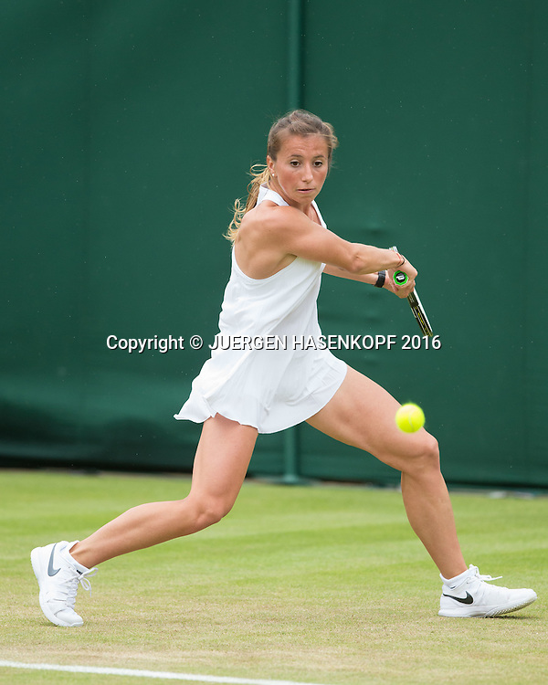 Annika Beck (GER)<br /> <br /> Tennis - Wimbledon 2016 - Grand Slam ITF / ATP / WTA -  AELTC - London -  - Great Britain  - 29 June 2016.