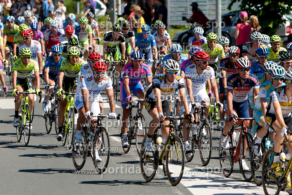 Cyclists during 3rd Stage (219 km) at 19th Tour de Slovenie 2012, on June 16, 2012, in Ivancna Gorica, Slovenia. (Photo by Urban Urbanc / Sportida.com)