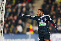 Joie Alexandre LACAZETTE  - 20.01.2015 - Nantes / Lyon  - Coupe de France 2014/2015<br /> Photo : Vincent Michel / Icon Sport