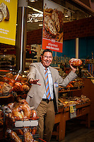 Scott McClelland, president of HEB, May 9, 2014 in Katy, TX.