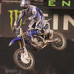 14 March 2009: Broc Hepler (60) jumps during the Monster Energy AMA Supercross race at the Louisiana Superdome in New Orleans, Louisiana
