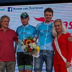 ENTER (NED) wielrennen:  <br />Tweede wedstrijd VIRO criteriumcup klassement. De leiders na twee wedstrijden, Jelle Wolsink, Edwin Wielink