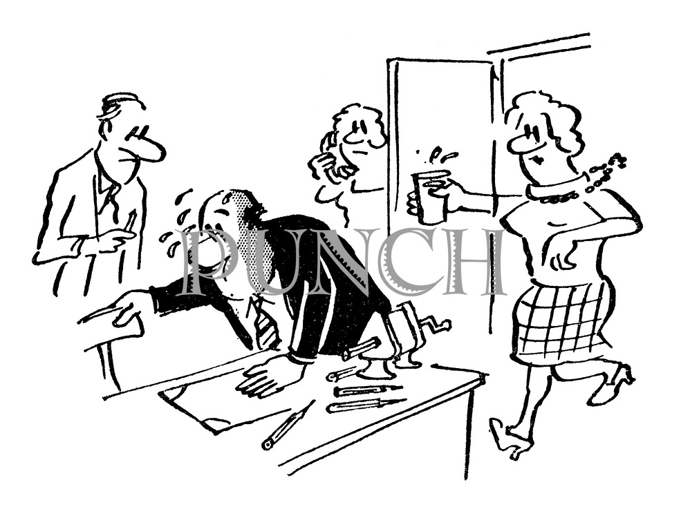 Cartoons About Business And Office Life From Punch