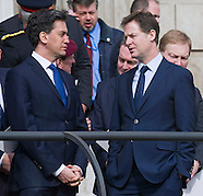 Ex-Leaders Ed Milliband & Nick Clegg