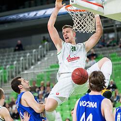 20140425: SLO, Basketball - Telemach League, KK Union Olimpija vs KK Helios Domzale