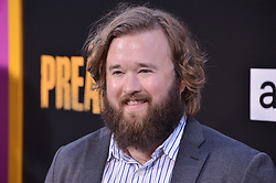 "Haley Joel Osment arrives at AMC's ""Preacher"" Season 2 Premiere Screening held at the Theater at the Ace Hotel in Los Angeles, CA on Tuesday, June 20, 2017.  (Photo By Sthanlee B. Mirador) *** Please Use Credit from Credit Field ***"