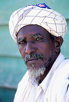 Saho ethnic group man - Arafale village - Dankalie province - Eritrea - Erythrée