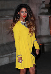 Preeya Kalidas arriving at a reception for the  British Asian Trust at the Victoria and Albert Museum in London, Wednesday, 5th February 2014. Picture by Stephen Lock / i-Images