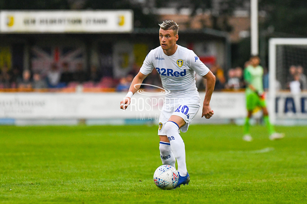 Leeds United Ezgjan Alioski (10) in action during the Pre-Season Friendly match between Tadcaster Albion and Leeds United at i2i Stadium, Tadcaster, United Kingdom on 17 July 2019.
