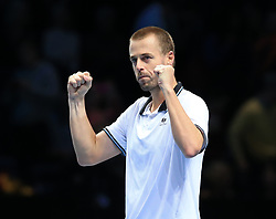 November 12, 2018 - Angleterre - Nitto ATP Finals - Marach - double numero1 world (Credit Image: © Panoramic via ZUMA Press)