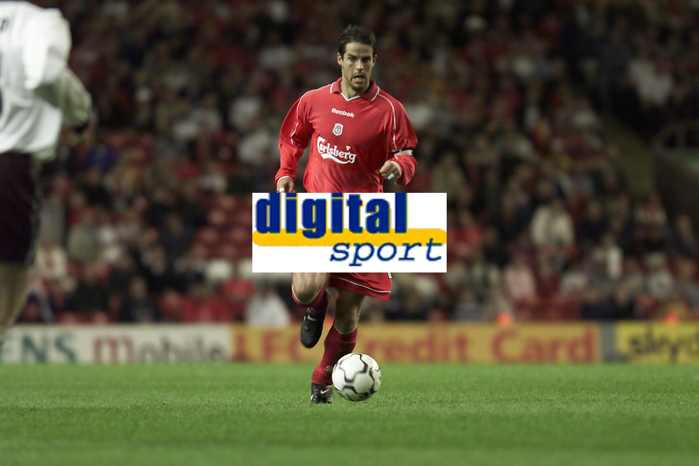 Fotball, Liverpool's Jamie Redknapp.  (Foto: Digitalsport).