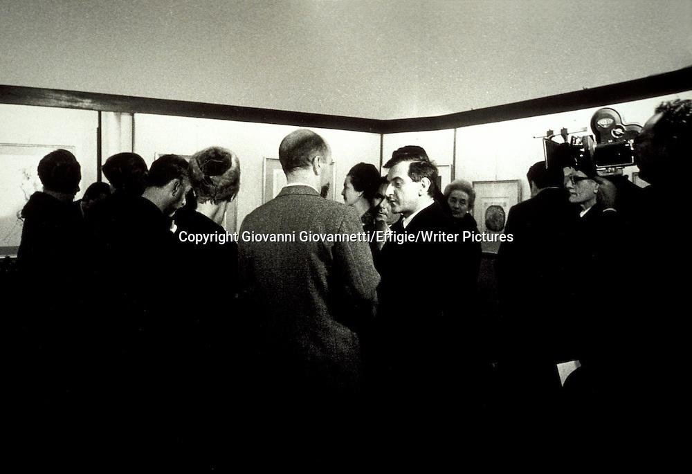 Giorgio Cesarano, Goffredo Parise <br /> <br /> <br /> 09/05/2003<br /> Copyright Giovanni Giovannetti/Effigie/Writer Pictures<br /> NO ITALY, NO AGENCY SALES