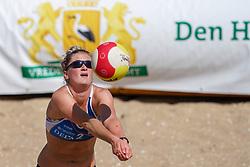 23-08-2019 NED; DELA NK Beach Volleyball Qualification, Scheveningen<br /> First day NK Beachvolleyball / Lauri Luijken