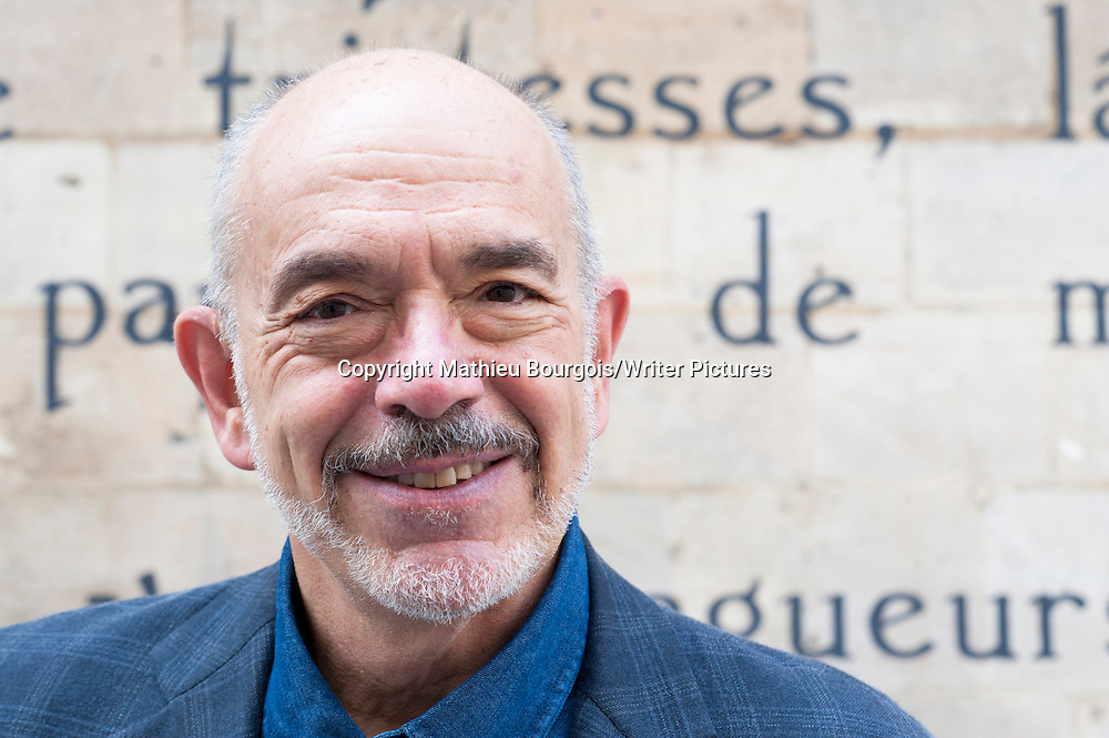 Wally Lamb at Festival America, Vincennes, France<br /> 9th September 2014<br /> <br /> Picture by Mathieu Bourgois/Writer Pictures<br /> <br /> NO FRANCE