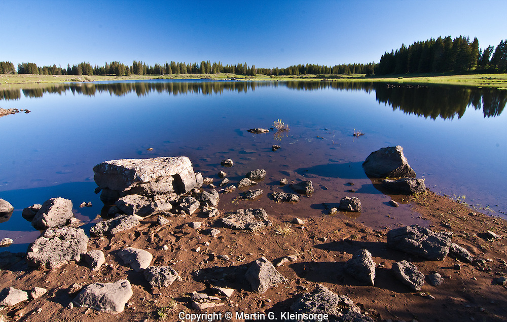 Reservoir #9 found on the flat top of the Grand Mesa,  Colorado.