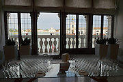 "Venice, Italy. 14th Architecture Biennale 2014, ""fundamentals"".<br /> Cocktail at Biennale Office."