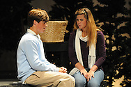 "Oxford High students rehearse the play ""Almost Maine"" in Oxford, Miss. on Wednesday, April 28, 2010."