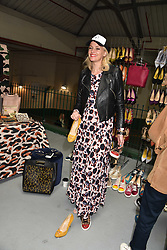 Bodil Blain at the #SheInspiesMe Car Boot Sale in aid of Women for Women International held Brewer Street Car Park, Soho, London England. 6 May 2017.<br /> Photo by Dominic O'Neill/SilverHub 0203 174 1069 sales@silverhubmedia.com