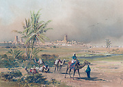 View of Timbuctoo (Timbuktu) in modern Malie, c1850