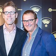 NLD/Hilversum/20180125 - Gouden RadioRing Gala 2017, Hans Schiffers en partner