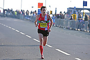 Chris Thompson (GBR) easily wins The Great South Run in Southsea, Portsmouth, United Kingdom on 23 October 2016. Photo by Jon Bromley.