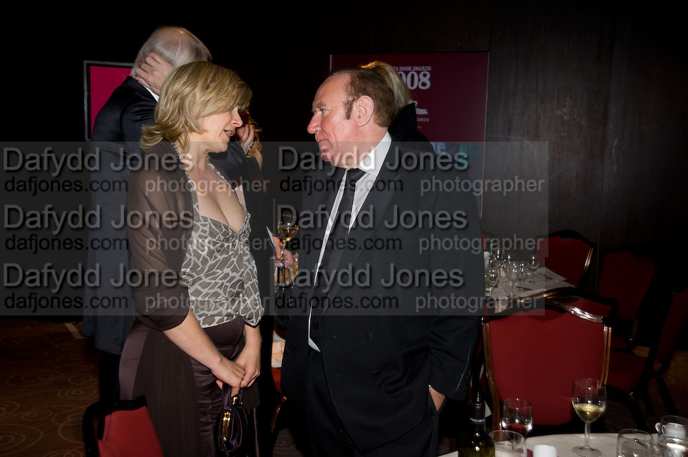 Penny Smith; Andrew Neil, The Costa Book of the Year Award at the Costa Book Awards. The Intercontinental Hotel, Hamilton Place. London. 27 January 2009 *** Local Caption *** -DO NOT ARCHIVE -Copyright Photograph by Dafydd Jones. 248 Clapham Rd. London SW9 0PZ. Tel 0207 820 0771. www.dafjones.com<br /> Penny Smith; Andrew Neil, The Costa Book of the Year Award at the Costa Book Awards. The Intercontinental Hotel, Hamilton Place. London. 27 January 2009