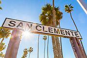 San Clemente Landmark Sign