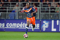FOOTBALL - FRENCH CHAMPIONSHIP 2011/2012 - L1 - STADE BRESTOIS v MONTPELLIER HSC - 17/09/2011 - PHOTO PASCAL ALLEE / DPPI - SOULEYMANE CAMARA (MON)