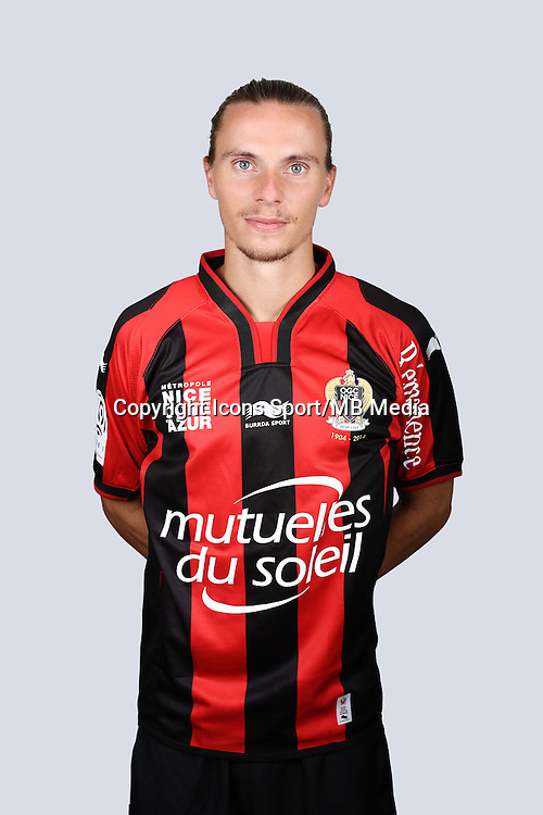 Niklas HULT - 01.10.2014 - Portrait Officiel Nice -<br /> Photo : Alexandre DEBBACHE / Nice / Icon Sport