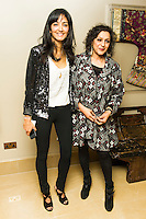Nisha Parti and Meera Syal, Honour - UK Gala Screening, The Mayfair Hotel, LONDON, 31st March 2014, Photo by Raimondas Kazenas