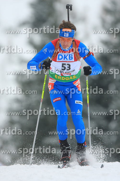 Marko Juhani Manttari (FIN) at Men 20 km Individual at E.ON Ruhrgas IBU World Cup Biathlon in Hochfilzen (replacement Pokljuka), on December 18, 2008, in Hochfilzen, Austria. (Photo by Vid Ponikvar / Sportida)